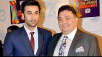 Ranbir Kapoor saves the scene after dad Rishi Kapoor yells at female fan outside a restaurant