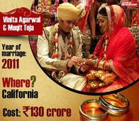 Band, Baaja, Baarat: These Are the Top 7 Most Expensive Weddings of the Indian Billionaires