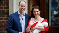 Royal Baby No 3: New Prince makes first public appearance with mum Kate and dad William