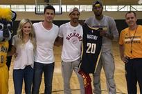 Paul George, George Hill, Frank Vogel to crash date on 'The Bachelor'