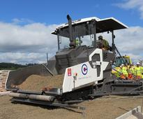 New Volvo paver for Connor Construction