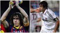 Barcelona vs. Real Madrid: Carles Puyol vs. Raul