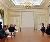 President Ilham Aliyev received delegation led by European Union Special Representative for the ...