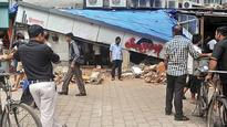 BMC demolishes illegal extensions of South Mumbai eateries