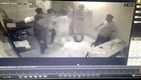 Caught on Cam: Husband of BJP MLA thrashes toll plaza employee