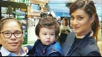 Not only Saif Ali Khan or Kareena Kapoor Khan, baby Taimur also gets pictures clicked with his fan