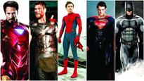 From Robert Downey Jr to Ben Affleck, who leads the superhero movie count?