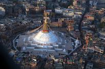 Majestic Swayambhunath Stupa