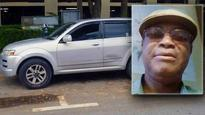 Dead man fined for illegal parking