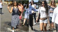 In pics | Shah Rukh Khan's birthday bash: Gauri Khan and Suhana Khan leave for Alibaug