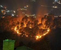 India forest fires flare close to famous Shimla railway