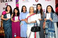 Shabana Azmi, Waheeda Rehman, Raveena Tandon grace the launch of Anjali Chhabria's book Death Is Not The Answer