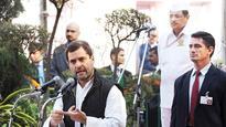 Rahul Gandhi makes way, finally?