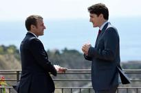 New Bromance? Internet abuzz after Justin Trudeau and Emmanuel Macron take picturesque stroll
