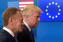 Trump talks trade with EU, varied differences remain