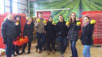 British Embassy staff volunteer at Israel's national food bank