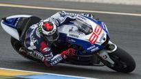 Lorenzo fastest in fourth free...