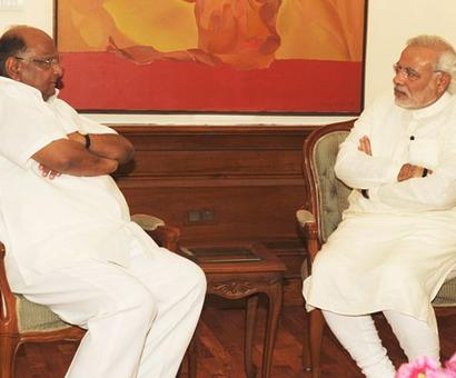 'Shame on you': Pawar attacks PM for remarks against Manmohan,
