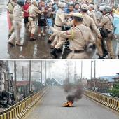 38 hours bandh cripples normal life