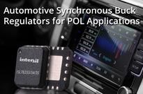 Intersil's Synchronous Buck Regulators Deliver POL Conversions for Infotainment and Advanced Driver Assistance Systems