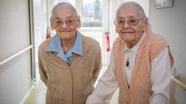 France's 104-year-old twins say sticking together is the secret to their longevity