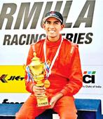 Brayan Perera dominates Formula Junior Racing series