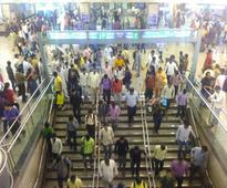 No exit from Rajiv Chowk Metro on Dec 31 evening
