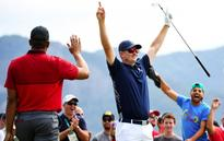 Justin Rose hits first-ever Olympic hole-in-one as golf returns to Games after 112-year absence