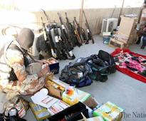 Rangers seize huge cache of heavy arms in Karachi raid