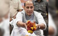 Home Minister Rajnath Singh Describes Congress As A 'Sinking Ship'