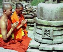 Thousands of monks attend 10-day global Buddhist ritual in Bodh Gaya