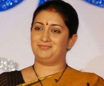 Smriti Irani stresses on societys role in women safety