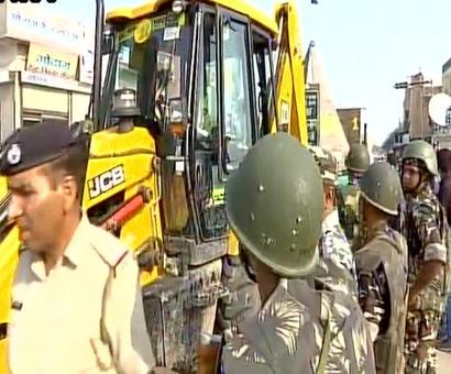 Security forces start sanitisation drive at Dera HQ in Sirsa