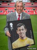 Gordon Banks 'proud' at stamp honour
