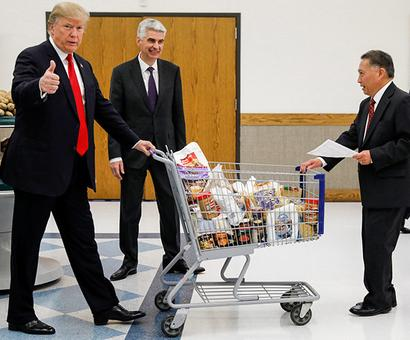 No! That can't be Trump shopping
