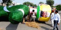 Dussehra effigies with Pak Murdabad, Nawaz Sharif jaisi karni waisi bharni slogans set to go up in flames