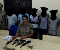 Five PLFI members nabbed, arms seized