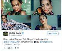 Irish actress Ruth Negga has made the cover of Vogue magazine