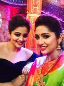 Buddies Navya Nair and Priya Mani have a fun time!