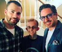 Avengers stars Robert Downey Jr, Chris Evans and Gwyneth Paltrow surprise dying fan