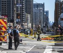 10 killed as van ploughs into pedestrians in Toronto, suspect arrested