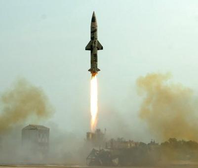 Pakistan cries foul over India's Prithvi-II missile test