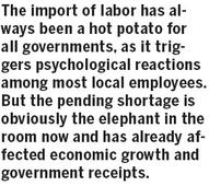 Importing labor a choice?