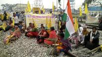 Rail Roko for Cooch Behar: 3000 demand separate state, disrupts train movement