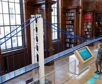 Record breaking LEGO bridge showcases engineering creativity