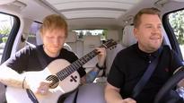 WATCH: Ed Sheeran hitches ride on 'Carpool Karaoke', spills beans on drunken night with Bieber