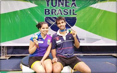 Shuttlers Sikki-Pranaav win Brazil Open Grand Prix title