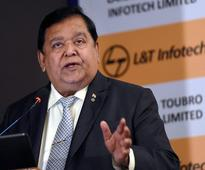 Sheer 'bad luck' L&T could not get Satyam: Naik