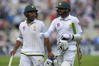 England v Pakistan: Tourists on top as Azhar Ali and Sami Aslam impress