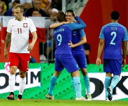 Poland lose to young Dutch side in Euro warm-up